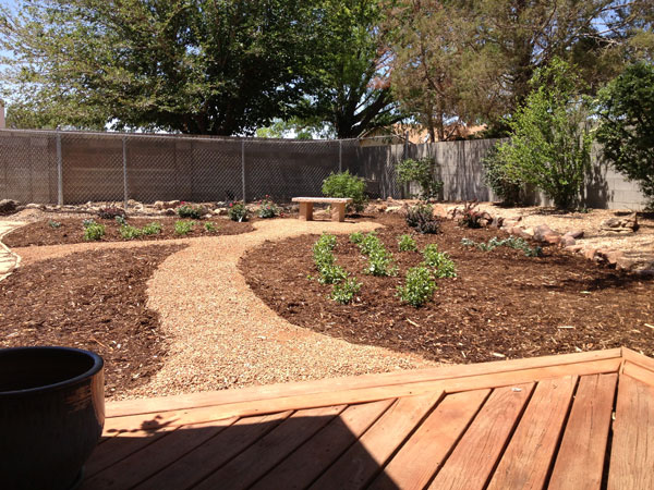 Landscaping Ideas New Mexico  Small Backyard Landscaping Ideas